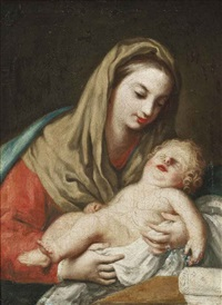the madonna and child by jacopo amigoni