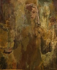 nude figure by frank sydney spears