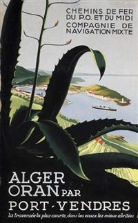 alger, oran par port-vendres by a. roquin