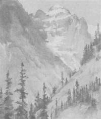 cannon mountain glacier park by marion boyd allen