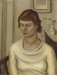 portrait of yvonne pène du bois by frances avery