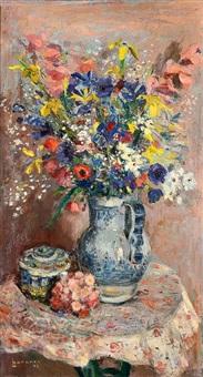Paul hannaux auctions results artnet - Bouquet de fleurs des champs ...