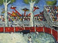 bullfight by kees andrea