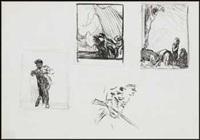 figure sketches by arthur lismer