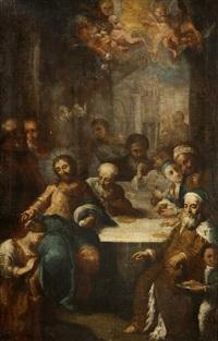 christus und maria magdalena by ignaz joseph raab