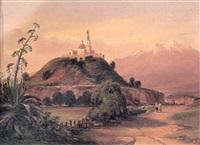 la pyramide de chalula by jean baptiste louis (baron gros) gros