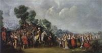 der triumph davids by jacob matthias weyer