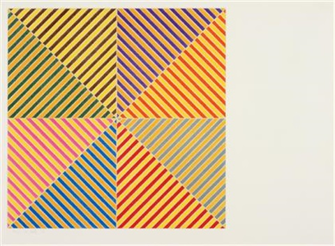 sidi ifni from homage a picasso by frank stella