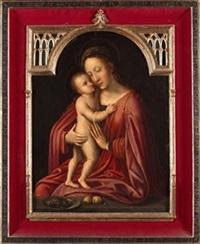 virgen con el niño by adriaen isenbrant