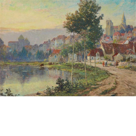 normandie by colin campbell cooper
