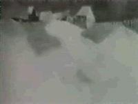barns in snow by philip burnham hicken