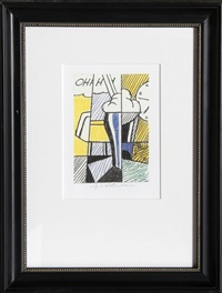 oh by roy lichtenstein