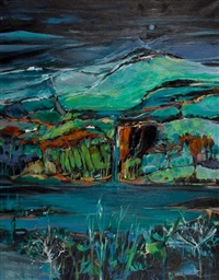 early snow, loch lomond by shelagh campbell