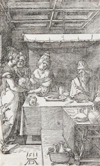 salomé présentant la tête de jean le baptiste à hérodias by albrecht dürer