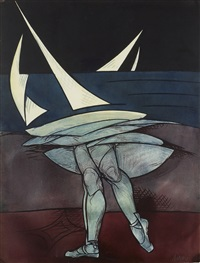 sans titre by valerio adami