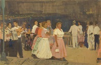 going to the celebrations by mikhail volodine