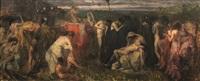 scena mitologica by giuseppe rivaroli