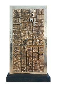 grande tavola dei segni by arnaldo pomodoro