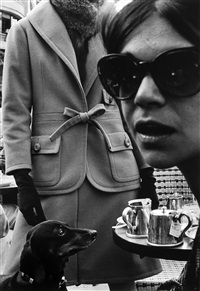 harper bazaar collection, paris by frank horvat