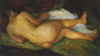 desnudo de mujer by diego rivera