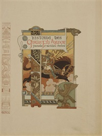 illustrations et projets décoratifs; la walkyrie (20 works) by eugène grasset