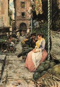 vecchia napoli o mercato spagnolo by vincenzo migliaro
