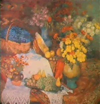fleurs et fruits by serafina senkevitch