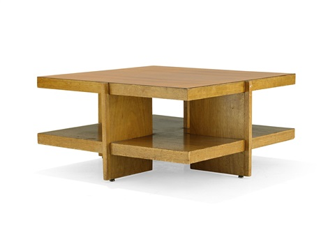 Coffee Table By Frank Lloyd Wright On Artnet