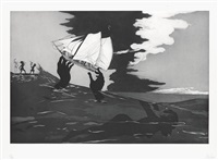 no world (from an unpeopled land in uncharted waters) by kara walker