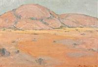 extensive landscape by piet (pieter gerhardus) van heerden