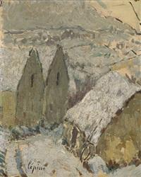 neige en corrèze by joseph louis lépine