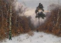 winterwald by heinrich gogarten