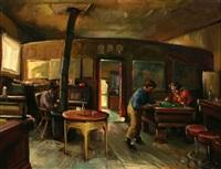 the old saloon (alaska?) by christian von schneidau