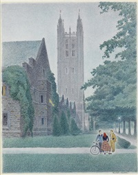 holder hall, princeton by ellison hoover