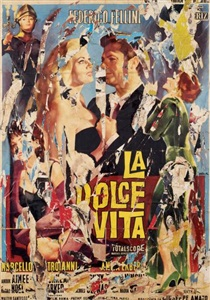 artwork by mimmo rotella
