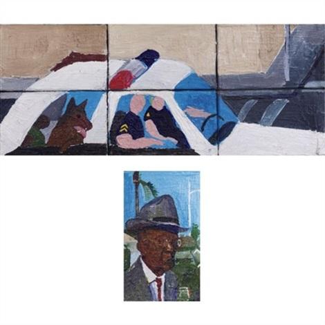 copcar (+ lw robinson; 2 works) by henry taylor