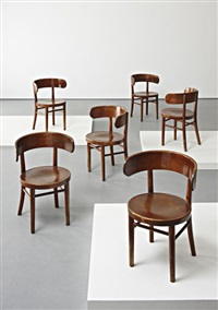 w1 chairs (set of 6) by werner west