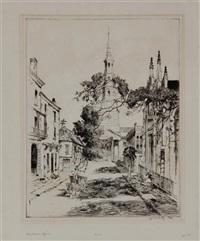 charleston spires by alfred heber hutty