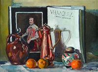 still life with ginger jar by dennis knight turner