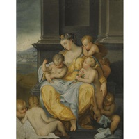 an allegory of charity by nicolo dell' abbate