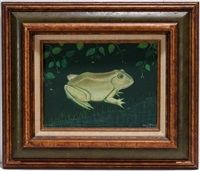 portrait of a frog (snookums) by mattie lou o'kelley