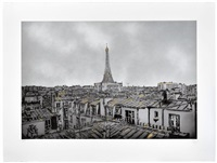 the morning after, paris (gold edition) by nick walker