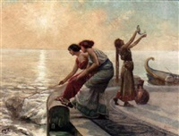 the early morning catch by emilio vasarri