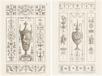 ornamentos (pair) by michelangelo pergolesi