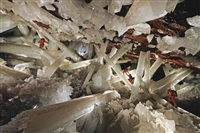 cave of crystals, naica, chihuahua, mexico by carsten peter