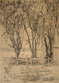 three willows (albany) by henri van raalte