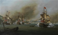 the assault on porto bello during the so-called war of jenkins ear by louis dodd