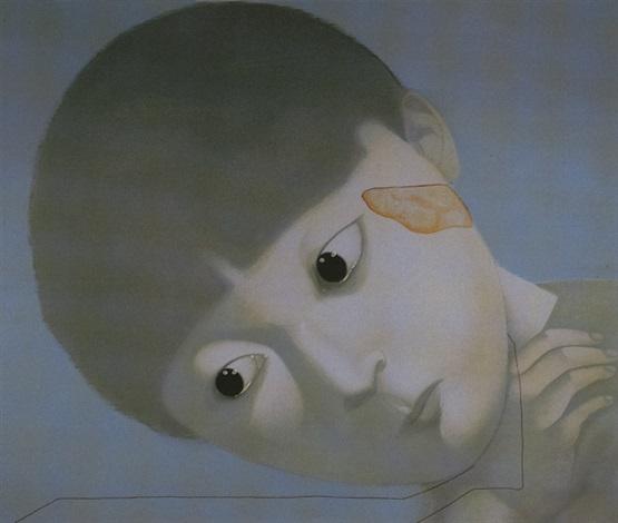 我的回憶 no. 2 (my memory no.2) by zhang xiaogang