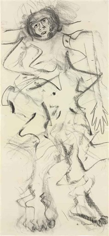 woman by willem de kooning