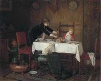 a mischievous mealtime by uranie alphonsine colin-libour